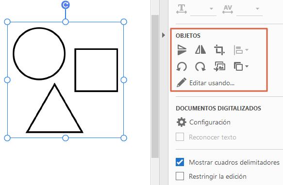 Agrega o inserta imágenes y objetos en Acrobat Reader paso 5