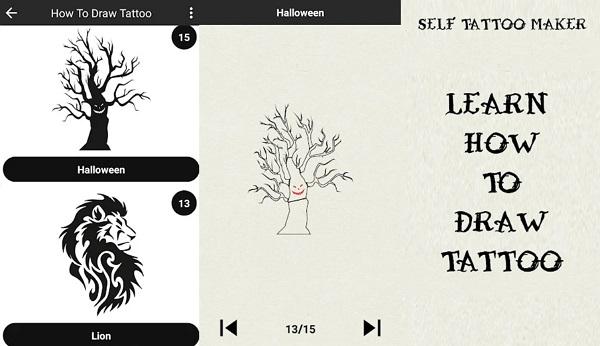 Aprende a dibujar el tatuaje