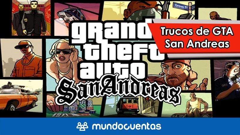 Claves de GTA San Andreas todos los trucos y códigos para PC y PS4