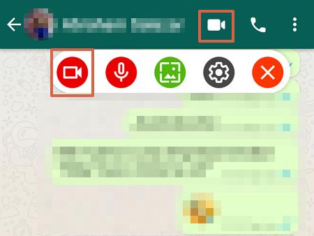 Cómo grabar videollamadas en WhatsApp usando Screen Recordator paso 4