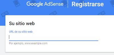 Cómo registrarse en Google AdSense paso 2