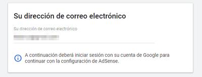 Cómo registrarse en Google AdSense paso 3