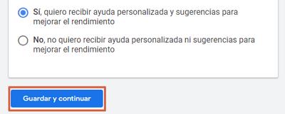 Cómo registrarse en Google AdSense paso 5