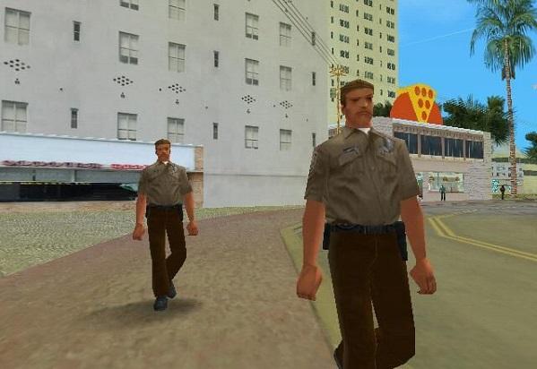 Peatones GTA Vice City