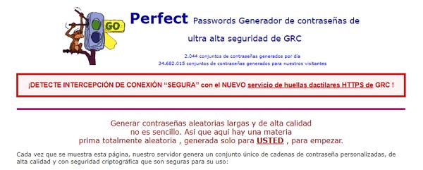 Perfect Passwords