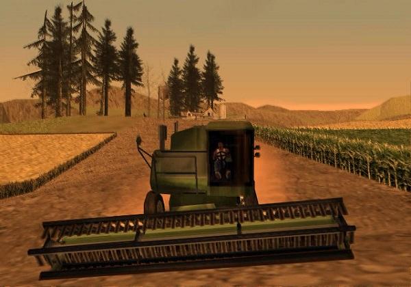 Temática rural en GTA San Andreas