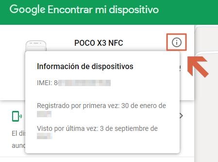 Cómo bloquear un celular robado o perdido Telcel usando la ubicación de Google paso 3.1