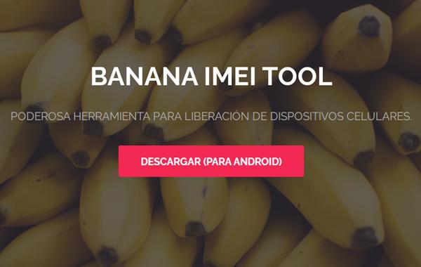 Cómo liberar un celular Telcel gratis usando Banana IMEI Tool