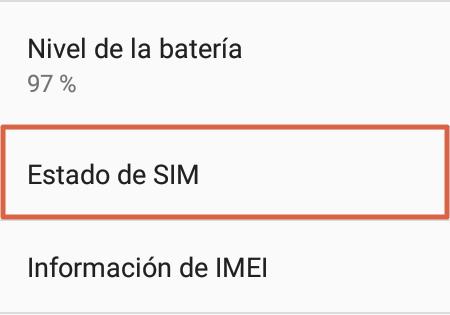 Cómo saber mi número Telcel a través de la configuración del móvil paso 3
