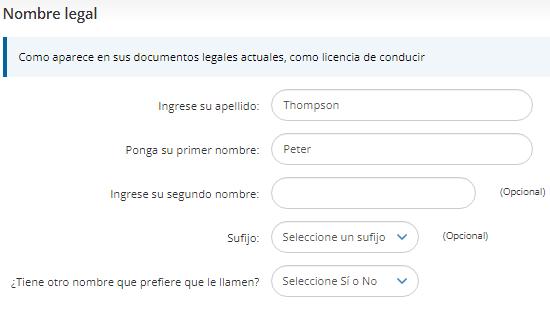 Cómo registrarse. Crear un mail con extensión EDU. Paso 2