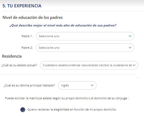 Cómo registrarse. Crear un mail con extensión EDU. Paso 8
