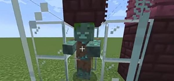 Obtención del tridente para realizar el encantamiento de empalamiento en Minecraft