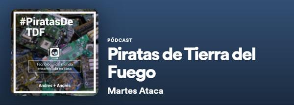 Tecnología. Piratas de Tierra de Fuego