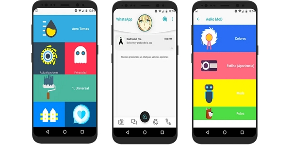 Ventajas y desventajas de WhatsApp Aero